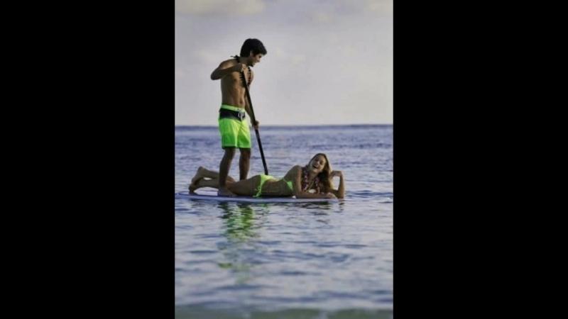 SUP сёрфинг