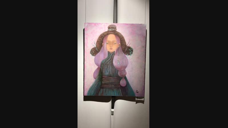 Волшебная выставка картин Ирины и Ольги Ертахановых в Галерее Виктора Бронштейна Тоодэй