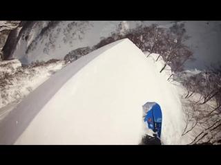 Travis Rice in Japan