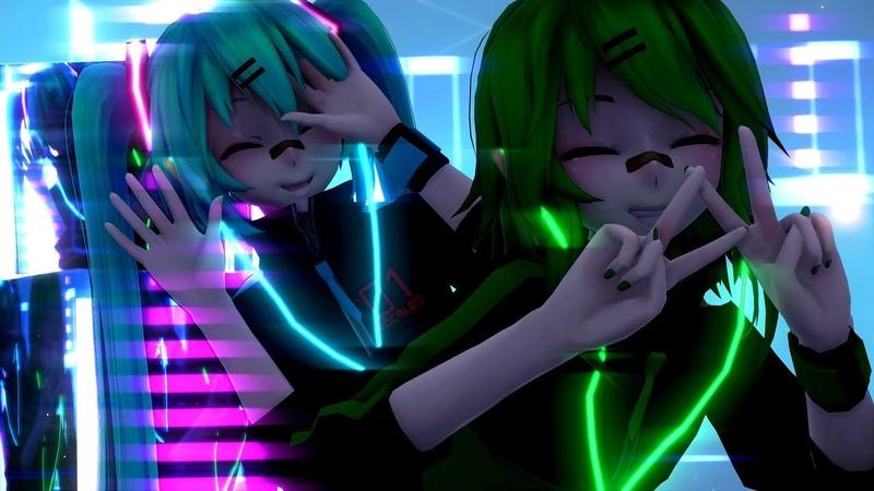 【MMD】 キドアイラク / EMOTIONS Stylish Energy Miku x Gumi
