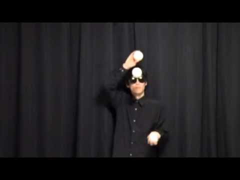 Puzzle Game Juggling Trick No.29 - 3 balls 3D String magnet difficulty low basic trick
