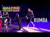 Amazing Cup 2018   Stefano Di Filippo & Dasha Chesnokova   WDC   Taipei   Rumba