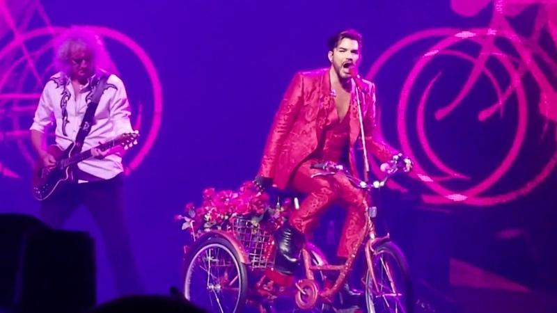 Queen Adam Lambert - Bicycle Race - Las Vegas, Park Theater - 092118 (show 9)