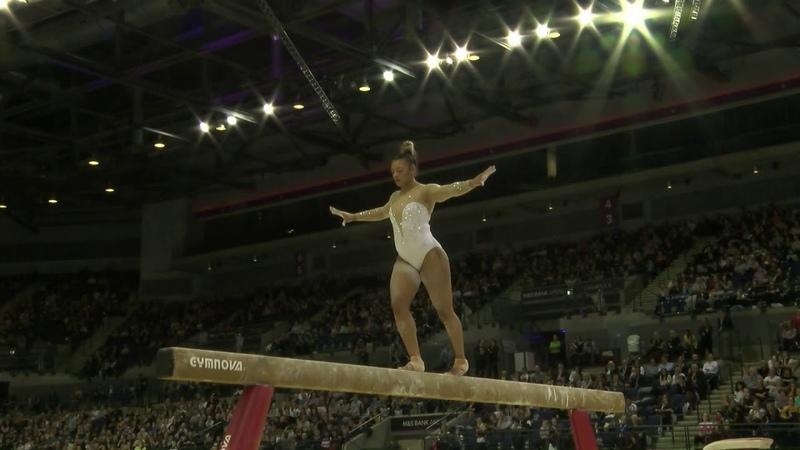 Ellie Downie AA GOLD Beam 2019 British Gymnastics Championships WAG SNR AA