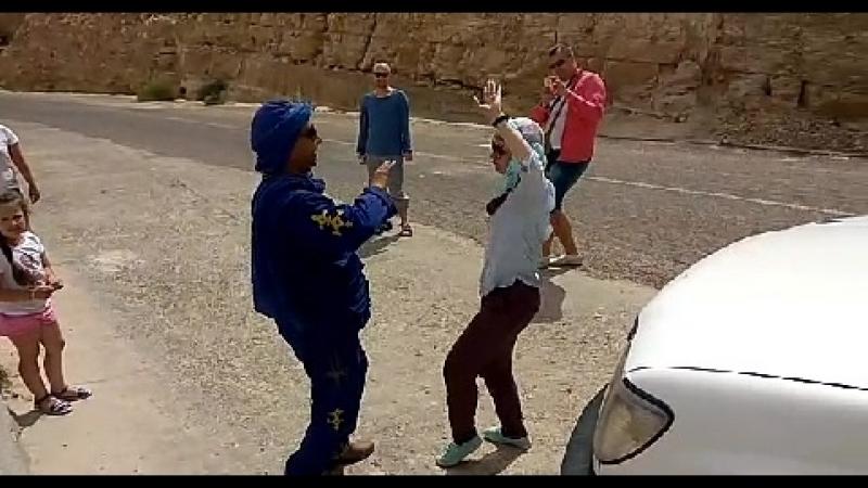Танцы в Джип тур Сахарские каникулы