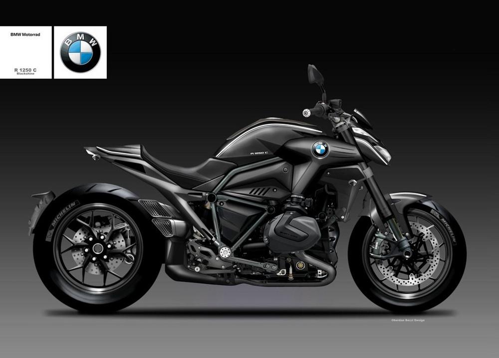 Концепт масл-байка BMW