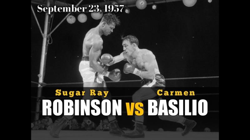Кармен Базилио vs Шугар Рэй Робинсон Carmen Basilio vs Sugar Ray Robinson l 23 09 1957