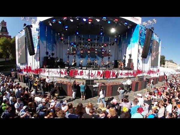 НАШИ В ГОРОДЕ 2018 - снятый на камеру 360 градусов.