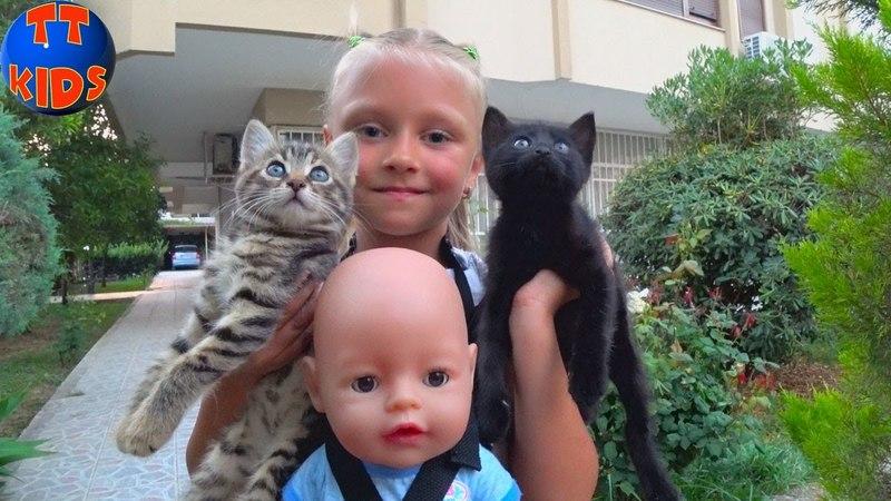 ВЛОГ Прогулка на Новую Набережную в Анталии с Ярославой и Куклой Беби Бон Baby Born Doll