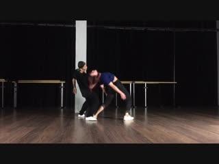 Collaboration Vitalii Slepcov & Sveta Yavorskaya   BAZA Dance Place   Санкт-Петербург