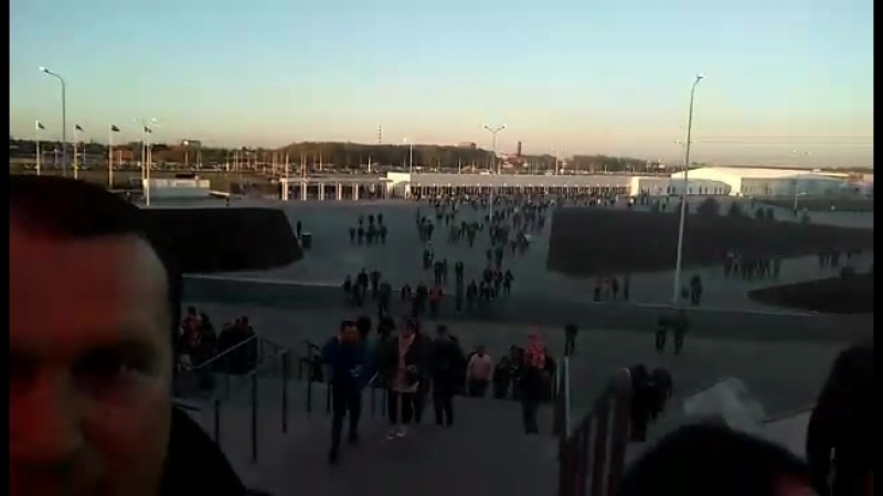 Первый раз на стадион красавец КалининградБалтика-Химки 21.04.18