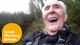 106 Year Old Jack's Record Breaking Zip Line Ride!   Good Morning Britain