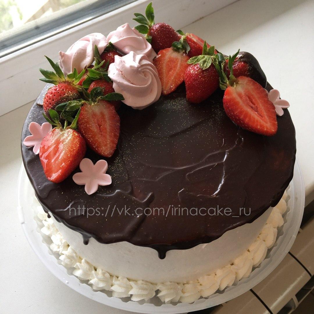Торт с клубникой (Арт. 157)