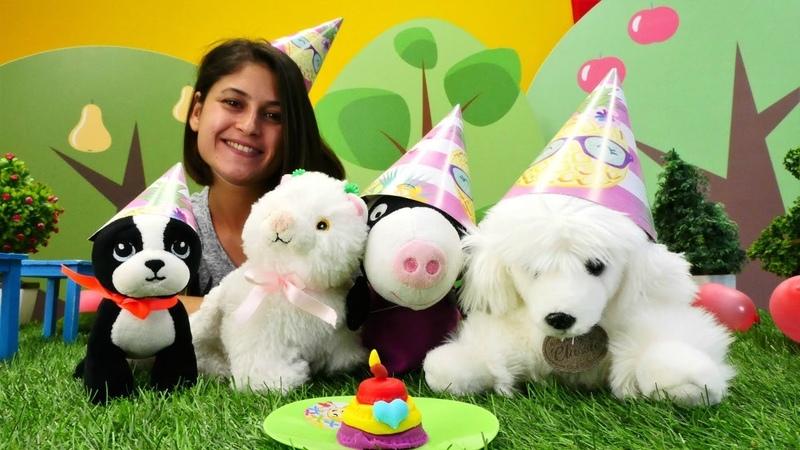 Ayşe ile kız videoları. Oyuncaklar Doğum günü kutluyor