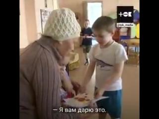 Бабушка для сирот. - 88-летняя Александра Филипповна вяжет теплые подарки для малышей из д