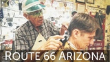 Conversation and Haircut with National Treasure Guardian Angel of Route 66 Seligman AZ
