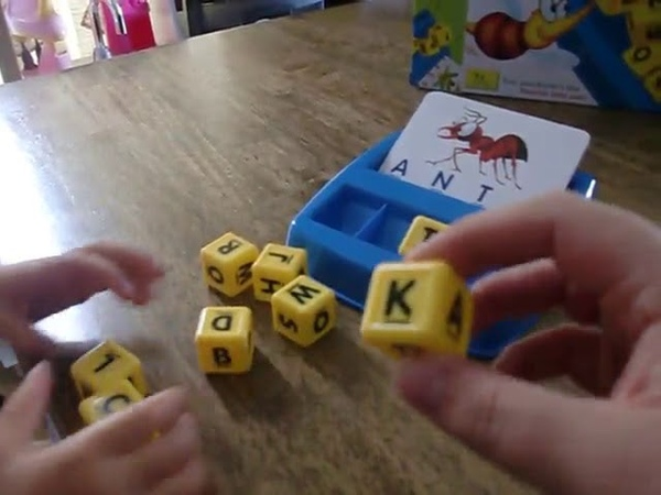 Matching Letter Game, by Little Treasures is great for teaching word and letter recognition, spellin