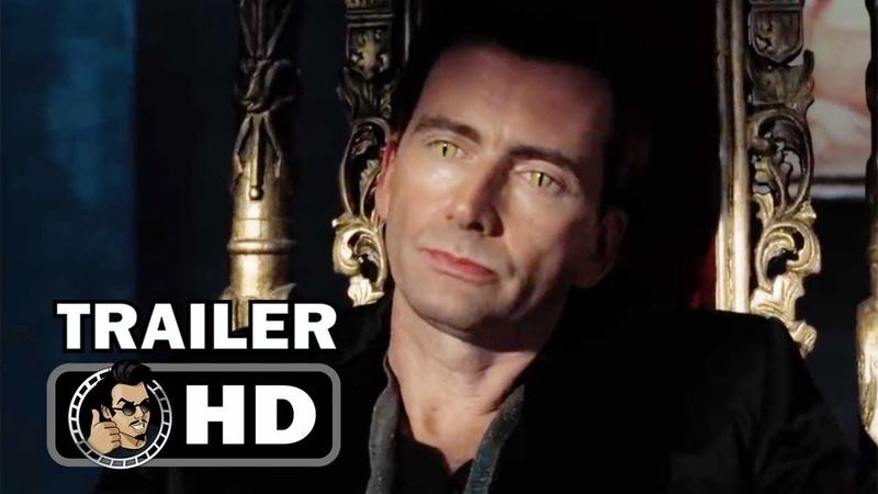 GOOD OMENS Official Trailer (HD) David Tennant Series