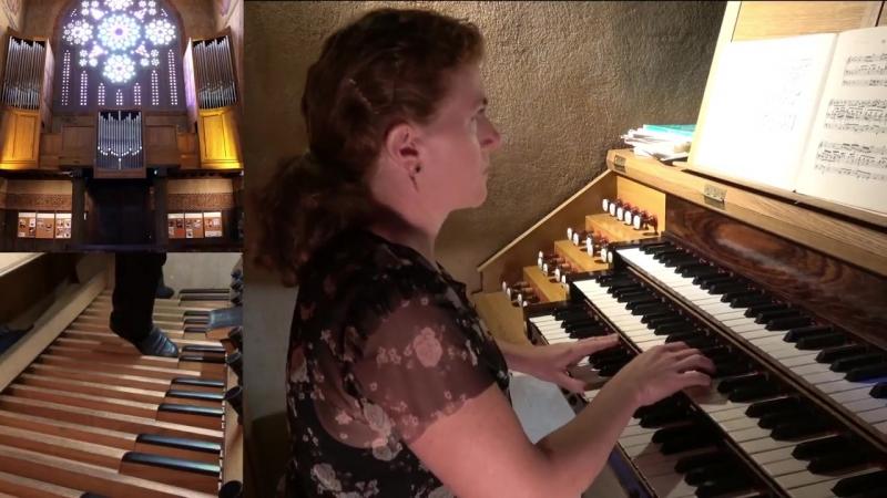 614 J. S. Bach - Das alte Jahr vergangen ist (Orgelbüchlein No. 16), BWV 614 - Anne-Adeline Lamy