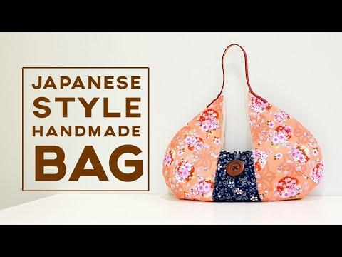 Japanese style handmade bag diy tutorial 【和风与你有约】这款包我很愛啊!❤❤