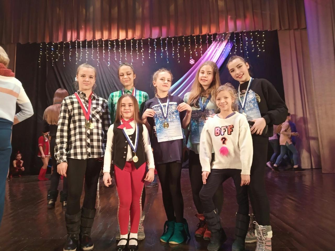 Танцоры ансамбля «Антарес» приняли участие в фестивале «Magic winter stars»