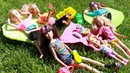 Барби СЮРПРИЗЫ на ПИКНИКЕ! Игрушки для девочек Мультики с куклами Barbie Doll