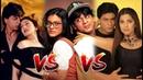 SRK Madhuri Dixit Vs SRK Juhi Chawla Vs SRK Kajol -Who Is Better pair?