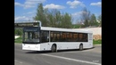 Автобус Минска МАЗ-203,гос.№ АС 3182-7,марш.78 (18.01.2019)