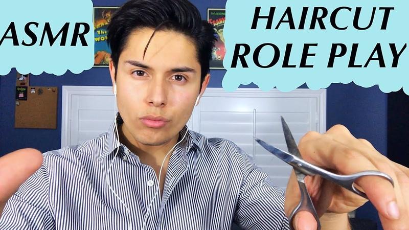 [ASMR] Italian Barber Role Play! (Haircut Tingles!)