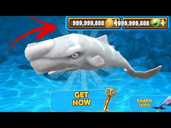 Hungry Shark Evolution Hack - Mod Unlimited Money v5.5.0 | MOD APK All 16 Sharks Unlocked Gameplay