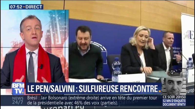 ÉDITO - La sulfureuse rencontre entre Le Pen et Salvini