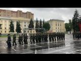 Присяга 19.05.2018 в/ч 3186 1 уч. рота