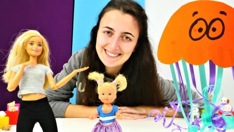 Barbie Sevcan ile Steffi için deniz anası yapıyorlar