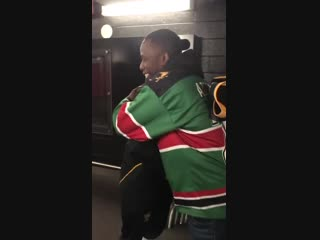 Ben from Kenya and Sidney Crosby have reunited!