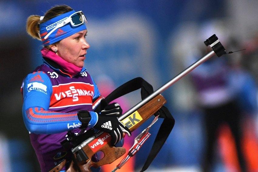 Уроженка Чайковского Глазырина выиграла чемпионат России в спринте по биатлону.