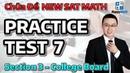 Chữa New Sat Math - Đề 7 - Section 3 - College Board