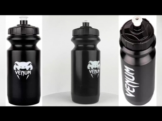 Бутылка venum contender water bottle black.mp4