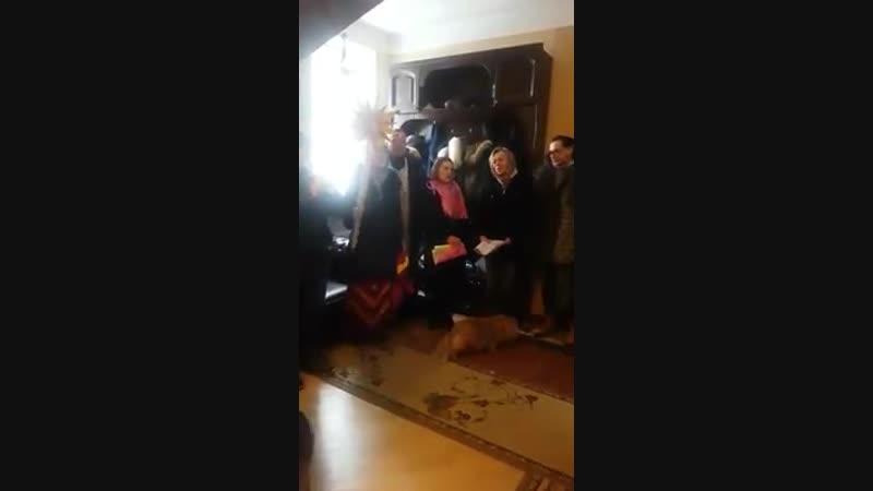 Урсула колядование Рождество 07.01.2018