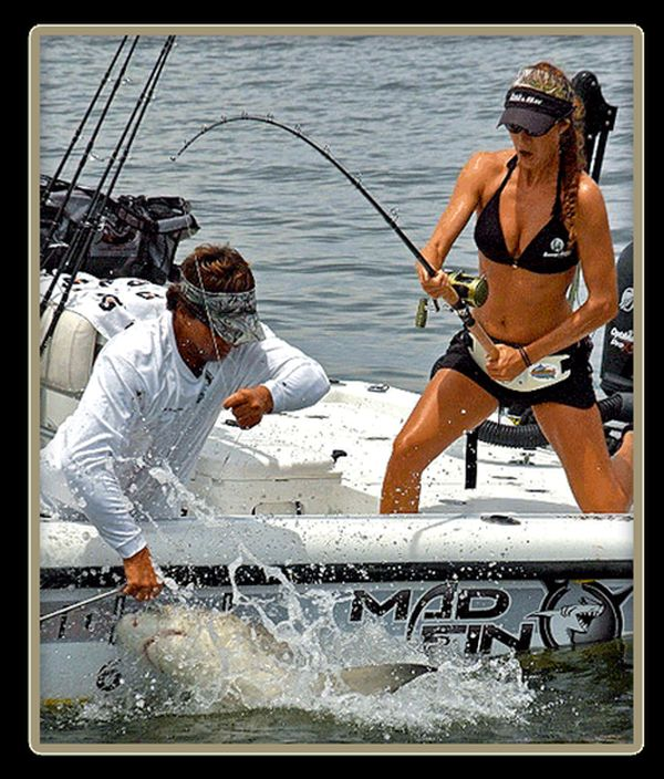 Тем временем на рыбалке