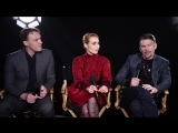 Ethan Hawke and Noomi Rapace Learn True Meaning Of Stockholm Syndrome Tribeca Studio