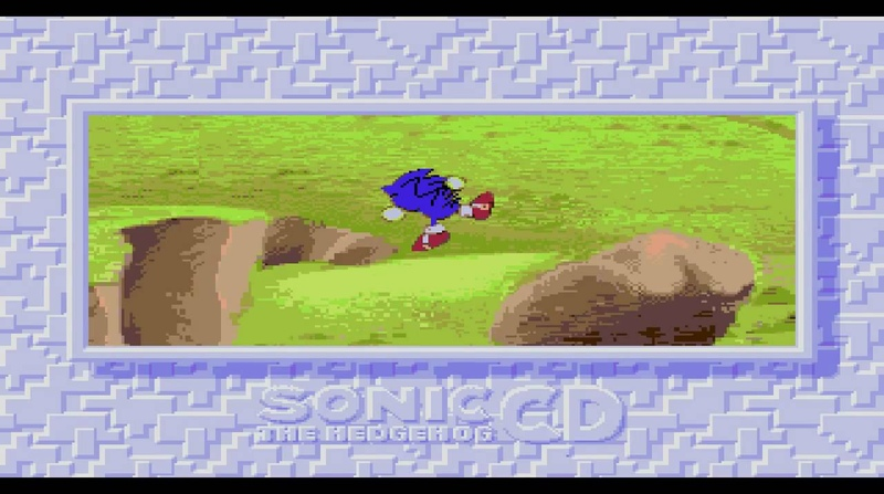 Sonic The Hedgehog CD (Opening) - Sonic - You Can Do Anything