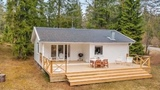 Right Now Im Showing You A 613 Sq. Ft. Small House In The Woods Of Sweden.