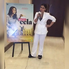 "KAJOL DEVGN @kajol on Instagram: ""Yesterday promotion for #helicoptereela @kajol at london"""