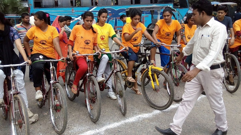 Girls Bicycle Competition - Bangladesh, Jhenidah ByPace Hi-Way Road Cycling Championship - Road Race