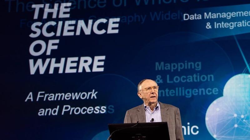 GIS–Inspiring Whats Next Jack Dangermond Keynote, Esri UC 2018 (1-of-4)