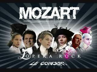"""Mozart L'Opera Rock"" в исполнении театра мюзикла ""Trouvere"", фестиваль ""Маски"".  г."