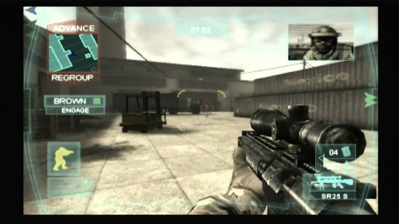 CGR Undertow - GHOST RECON: ADVANCED WARFIGHTER for PlayStation 2 Video Game Review