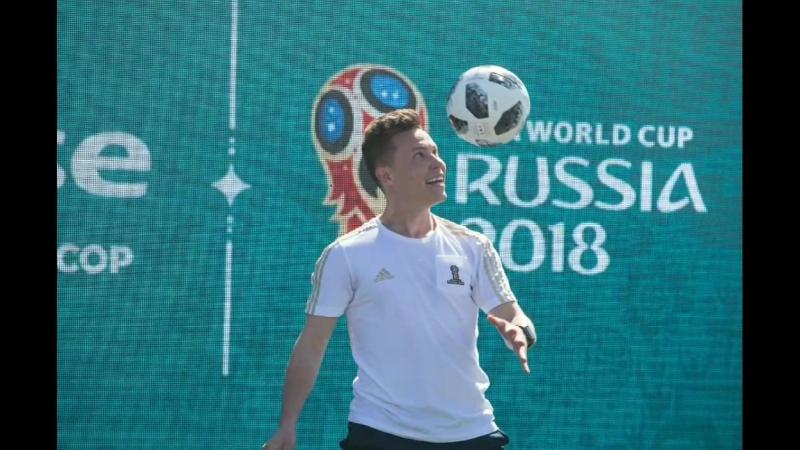 Парк Чемпионата Мира по футболу FIFA 2018 на площади Куйбышева