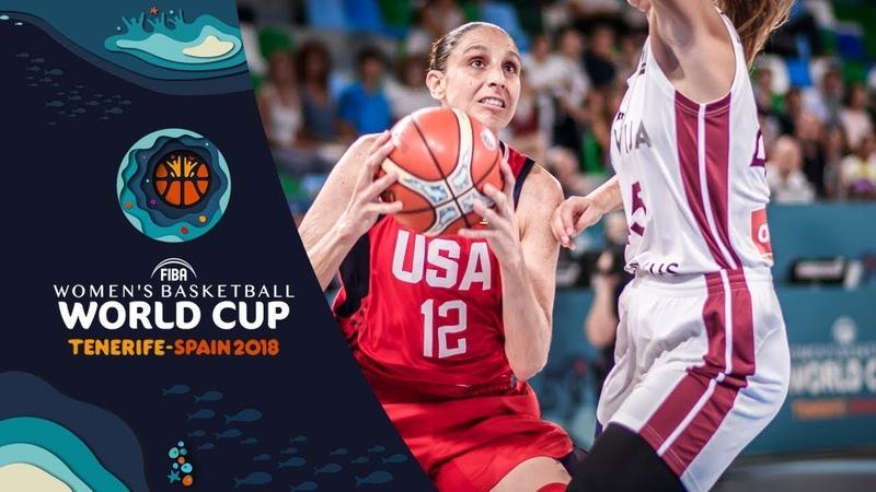 Latvia v USA - Highlights - FIBA Women's Basketball World Cup 2018