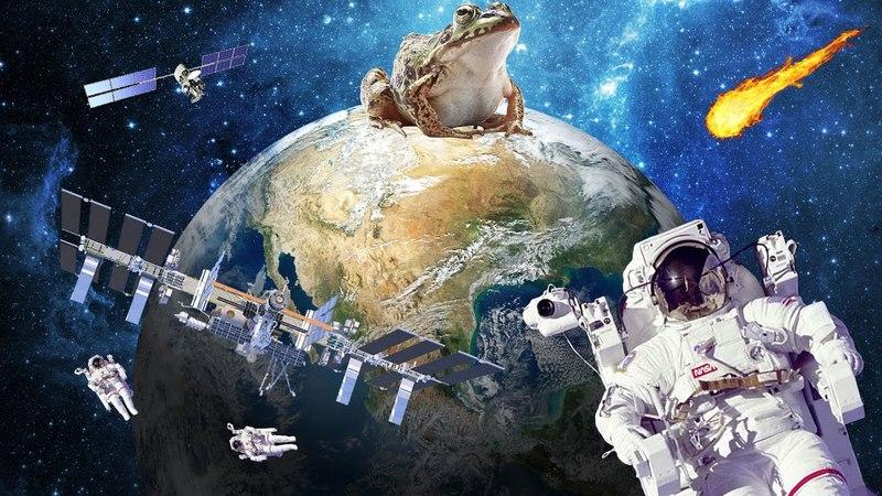 ПЛОСКАЯ ЗЕМЛЯ: МКС - НЕТ, Размер России, Искажение горизонта.